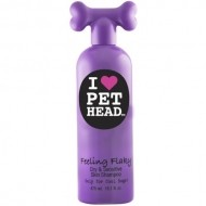 Pet Head Shampoo Yogurt de Fresa para Piel Seca
